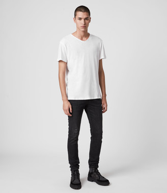 AllSaints Figure V-Neck T-Shirt