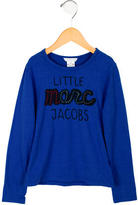 Little Marc Jacobs Girls' Printed Crew Neck Top