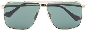 Gucci GG0840S1 aviator-frame sunglasses