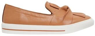 Sandler Talia Tan Glove Sneakers