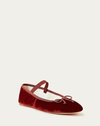Loeffler Randall Leonie Rust Ballet Flat