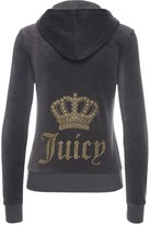 Juicy Couture Logo Velour Juicy Crown Robertson Jacket