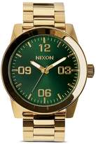 Nixon The Corporal Sunray Dial Watch, 48mm