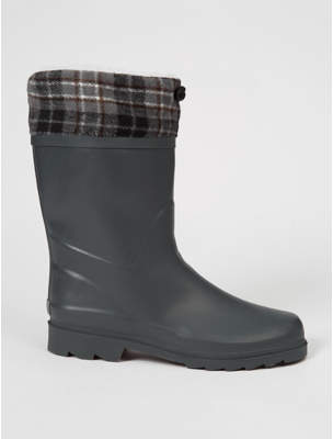 George Grey Thermal Lined Drawstring Top Wellington Boots