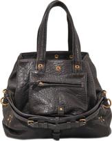 Jerome Dreyfuss Billy M bag in bubble lambskin leather
