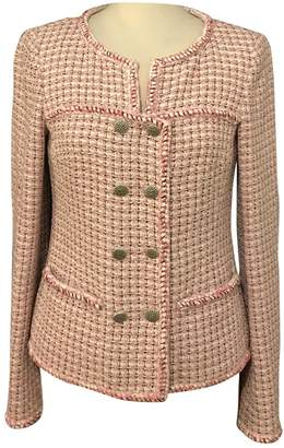 Chanel Pink Tweed Jacket for Women