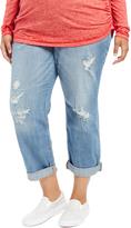 Motherhood Plus Size Boyfriend/girlfriend Maternity Jeans