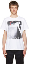 Carven White Graphic T-shirt