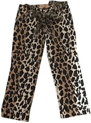 Anna Molinari Cotton Trousers for Women
