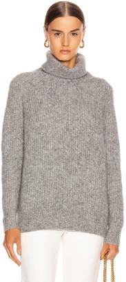 Nili Lotan Douglass Sweater in Cement   FWRD