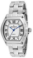 Peugeot Women's Silvertone Roman Numeral Bracelet Watch