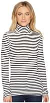 Splendid Long Sleeve Turtleneck Top Women's Clothing