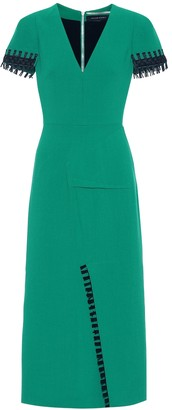Roland Mouret Fortana wool crepe dress
