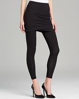 Lysse Ruched Skirt Crop Leggings