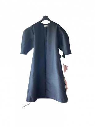 Totême Black Wool Coat for Women