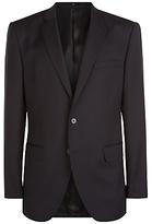 Jaeger Wool Regular Fit Suit Jacket, Black