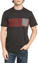 O'Neill Men's Rodgers Striped Pocket T-Shirt