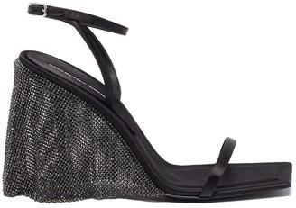 Alexander Wang 'Blake' Rhinestone Heel Sandals