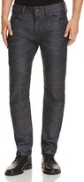 True Religion Rocco Moto Slim Fit Jeans in Storm