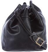 Salvatore Ferragamo Leather Bucket Bag