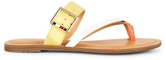 Tommy Hilfiger Lahyla Toe-Loop Flat Sandals