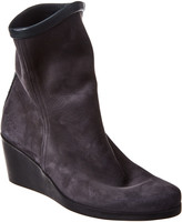 Arche Johaho Leather Wedge Bootie