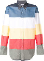 Thom Browne Classic Long sleeve shirt In Multi-Colored Stripe Oxford