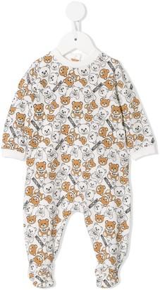 MOSCHINO BAMBINO Teddy Bear print pyjamas
