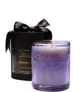 D.L. & Co. Etched Tree Candle - Purple