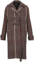 Whistles Jerry Belted Check Coat
