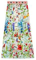 Gucci Unskilled Worker silk skirt