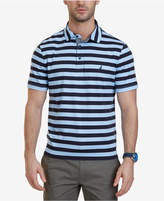 Nautica Men's Big & Tall Striped Polo
