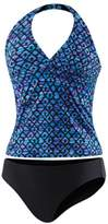 Speedo Womens Halter Top Tankini Swimsuit