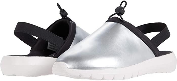 rsvp Janice (Silver Nylon) Women's Shoes