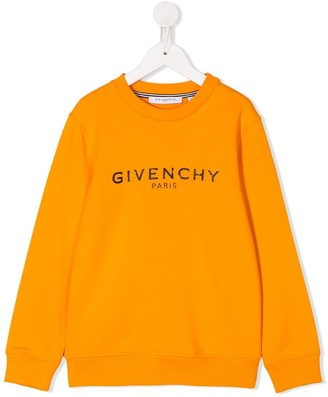Givenchy Kids Logo Long-Sleeve Sweatshirt