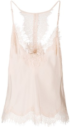 Gold Hawk Lace Trim Camisole