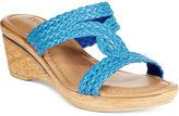 Easy Street Shoes Tuscany by Loano Wedge Sandals
