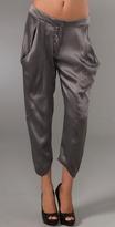 Silk Harem Trousers