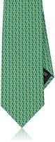 Salvatore Ferragamo Men's Chain-Link-Print Silk Necktie
