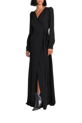 P.A.R.O.S.H. Long Wrap Dress