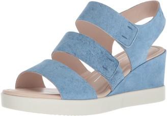 Ecco Women's Shape Plateau Wedge Sandal