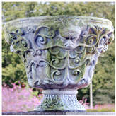 Orlandi Statuary OrlandiStatuary Garden Composite Urn Planter Drain Opening: No