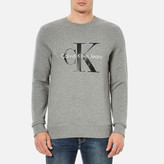 Calvin Klein Men's 90's ReIssue Sweatshirt - Light Grey Heather
