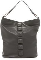 Deux Lux Crown Studded Hobo Bag
