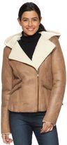 Levi's Women's Hooded Faux-Shearling Jacket