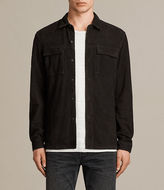 AllSaints Oryn Leather Shirt