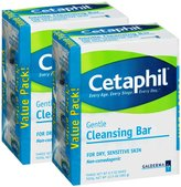 Cetaphil Cleansing Bar - 4.5 oz - 3 ct - 2 pk