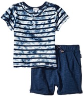Splendid Littles Tie-Dye Short Sleeve Shorts Set Boy's Active Sets