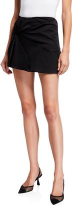 Coperni Vortex Embroidered Mini Skirt