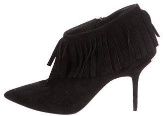 Burberry Fringe Ankle Boots